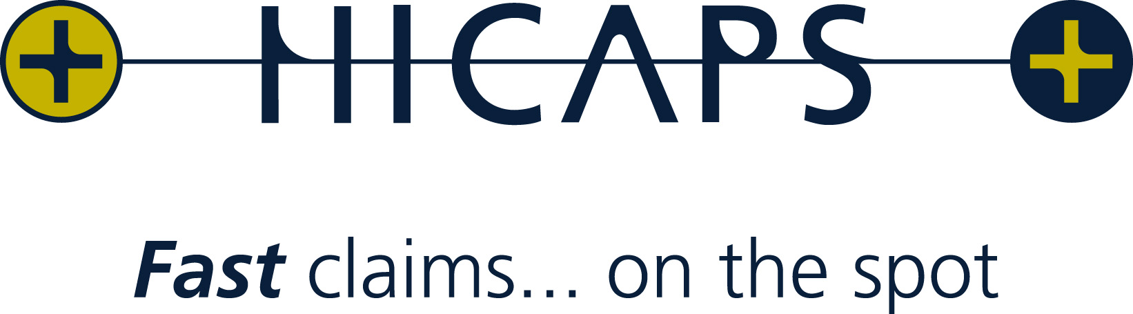HICAPS logo - fast claims, on the spot