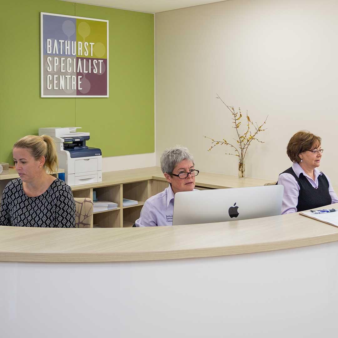 Reception   Bathurst Specialist Centre